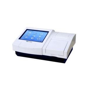 """Leitora de Microplacas ELISA Tela 10.4"""" com Autocalibração. Realiza até 12 Testes Diferentes Apenas em Uma Placa."""