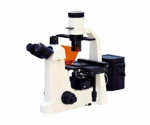 Microscópio Biológico Trinocular Invertido com Ótica Infinita, Contraste de Fases e kit de Fluorescência Lentes Planacromáticas