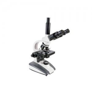 Microscópio Biológico Trinocular Série BIO até 1600x com Bateria Recarregável Objetivas Acromáticas