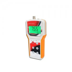 pHmetro Portátil com Compensação de Temperatura